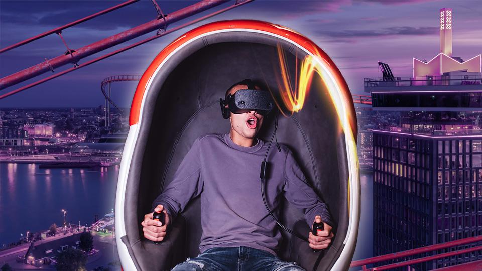 A'DAM VR Rollercoaster ride